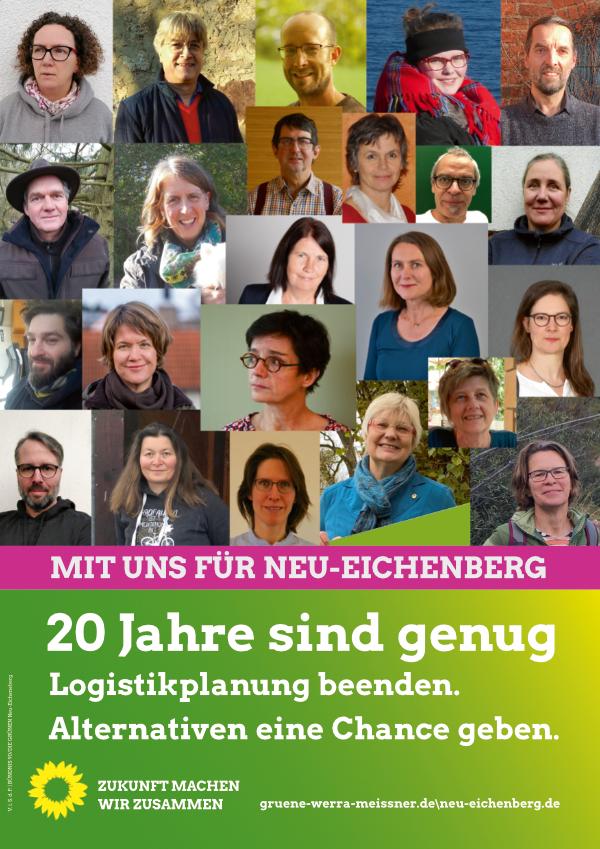 Wahlplakat 2021 Neu-eichenberg